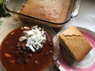 Photo From: Vegetarian Chili with Cornbread