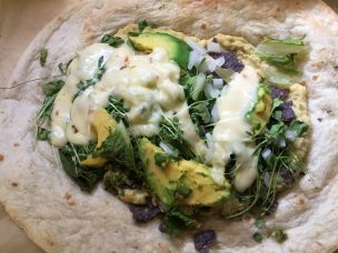 Photo From: Hummus Burrito (Spring)