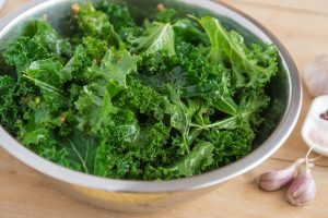 Photo From: Roasted Kale with Sea Salt