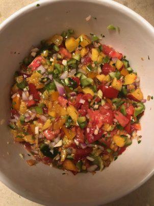 Photo From: Fresh Salsa (or Peach Salsa)