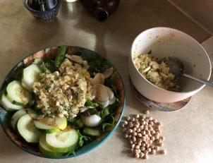 Photo From: Mock Tuna Salad — Vegetarian Chick Pea Sandwich Filling
