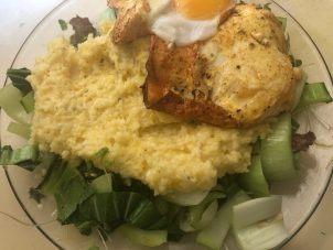 Photo From: Cheesy Grits with Eggs