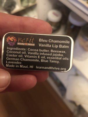 Photo From: Bleu Chamomile Vanilla Lip Balm