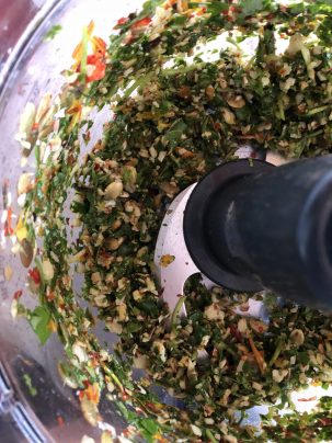 Photo From: Nasturtium Pesto